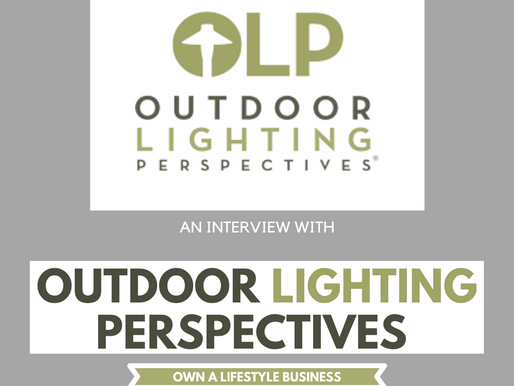 Q&A OUTDOOR LIGHTING PERSPECTIVES, A Franchise Opportunity