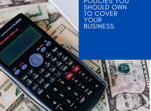 What insurance policies you should own to cover your business