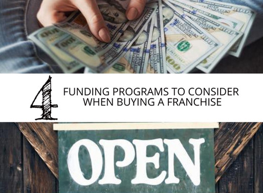 Four Funding Programs to Consider When Exploring Franchise Ownership