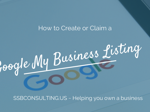 How to Create or Claim a Google My Business Listing