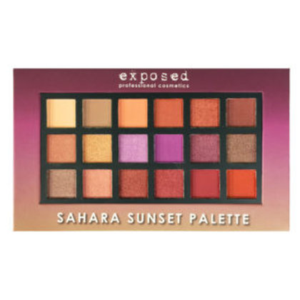 Exposed Sahara Sunset Eyeshadow Palette