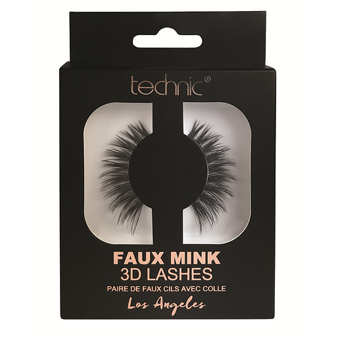 Technic Faux Mink 3D False Lashes