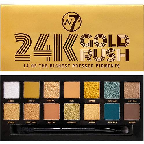 W7 '24K Gold Rush' Eyeshadow Palette