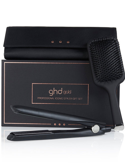 GHD Dynasty Gold Professional Iconic Styler Set