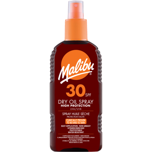 Malibu Dry Oil Spray SPF 30