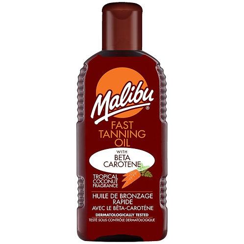 Malibu Fast Tanning Oil With Beta Carotene