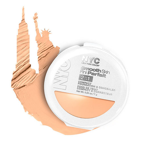 NYC 2 In 1 Smooth Skin Foundation & Concealer