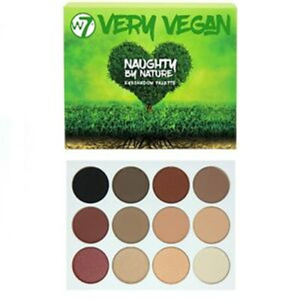 W7 Very Vegan Naughty By Nature Palette