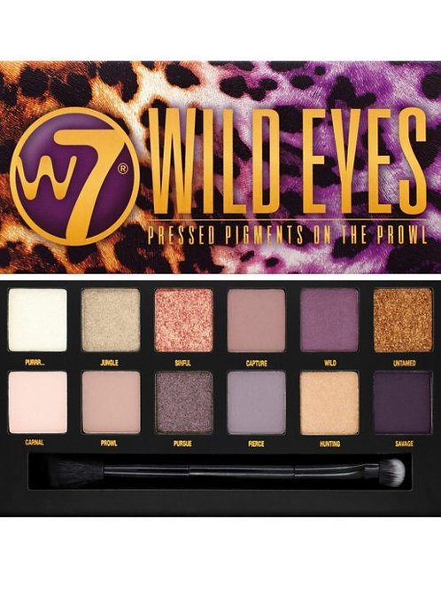W7 'Wild Eyes' Eyeshadow Palette