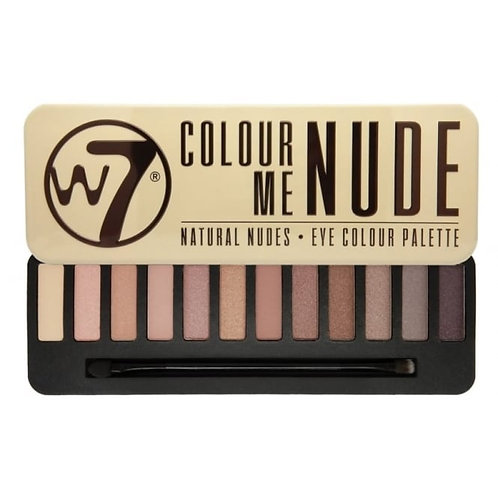 W7 Colour Me Nude Palette