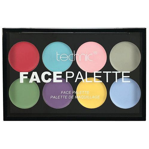 Technic Face Paint Palette