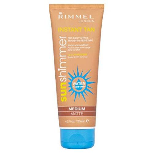 Rimmel Sunshimmer Water Resistant Instant Tan