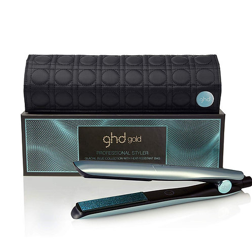 GHD Gold Glacial Blue Professional Styler