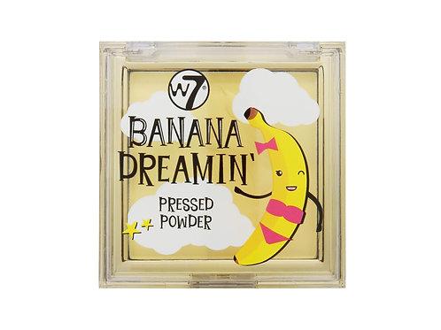 W7 Banana Dreamin' Pressed Powder