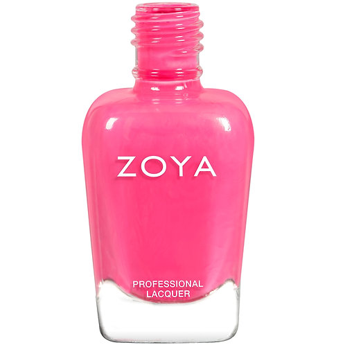 Zoya Pink and Purple Nail Polishes