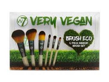 W7 Very Vegan Brush Eco Set