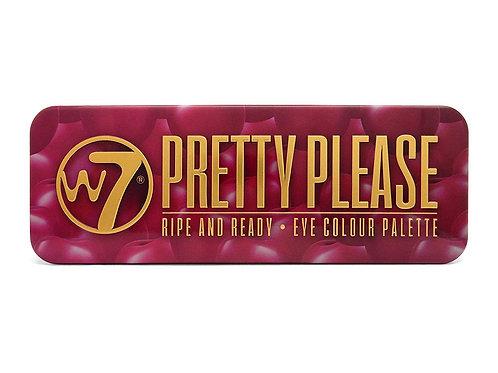 W7 Pretty Please Palette