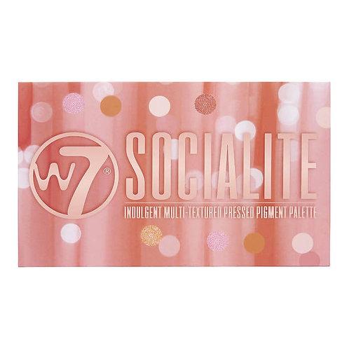 W7 Socialite Palette