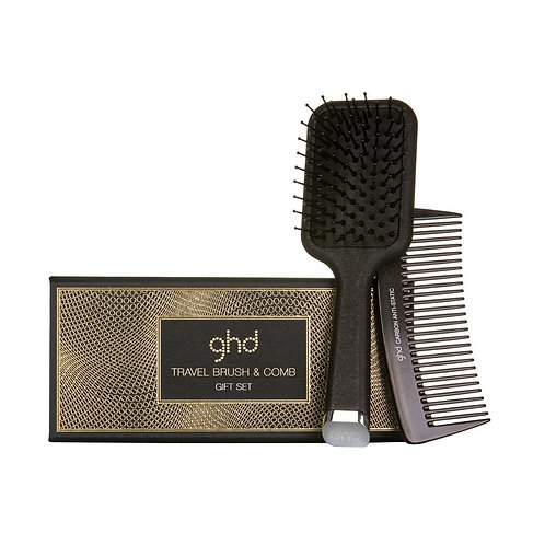 GHD Travel Brush & Comb Gift Set
