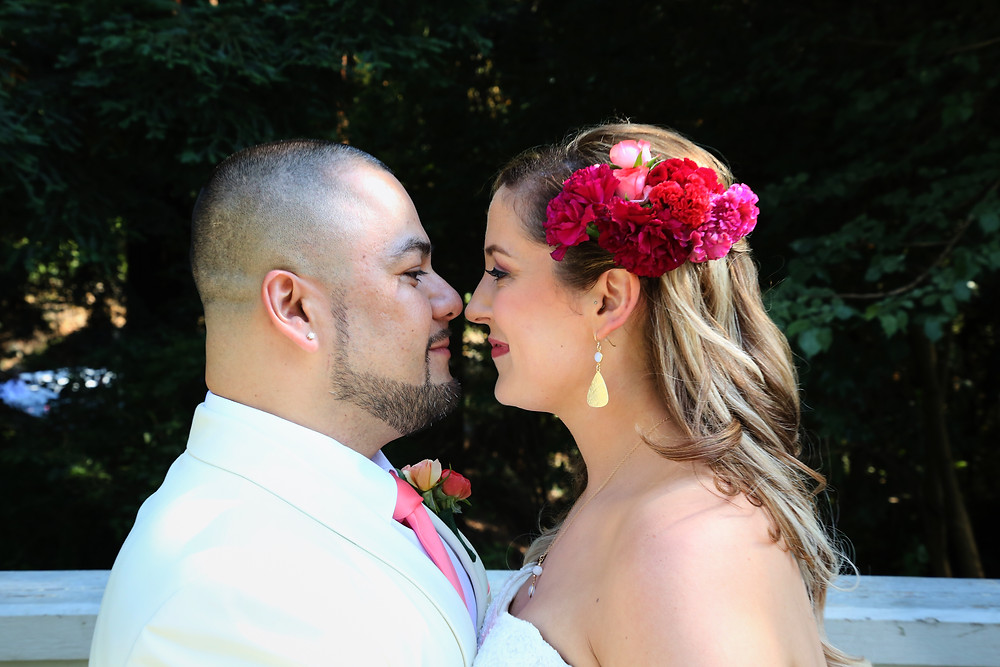 Stacy and Cesar wedding pic