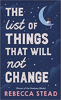 The List of Things That Will Not Change Hardcover