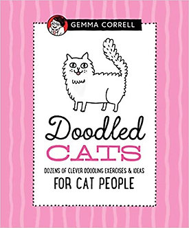 Doodled Cats: Dozens of clever doodling exercises & ideas for cat people