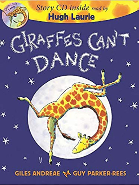 Giraffes Can't Dance Book & CD Paperback