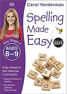 Spelling Made Easy Ages 8-9 Key Stage 2 (Made Easy Workbooks) Paperback