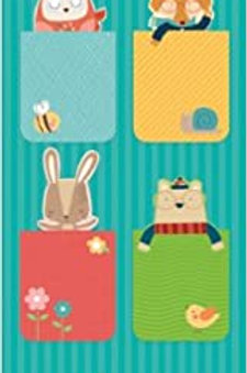 Mr Fox and Friends Magnetic Bookmarks