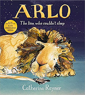Arlo The Lion Who Couldn't Sleep Hardcover