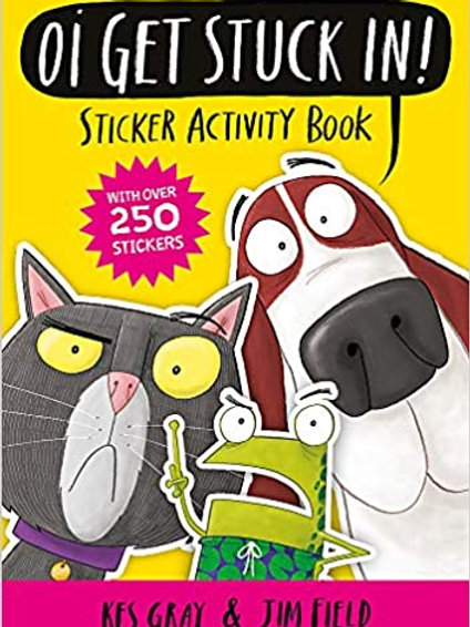Oi Get Stuck In! Sticker Activity Book (Oi Frog and Friends)