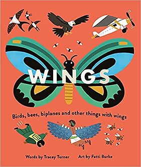 Wings: Birds, Bees, Biplanes and Other Things with Wings (Wheels/Wings)