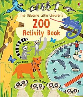 Little Childrens Zoo Acivity Book