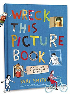 Wreck This Picture Book Hardcover