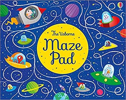 Maze Pad: 1 (Puzzle Pads)