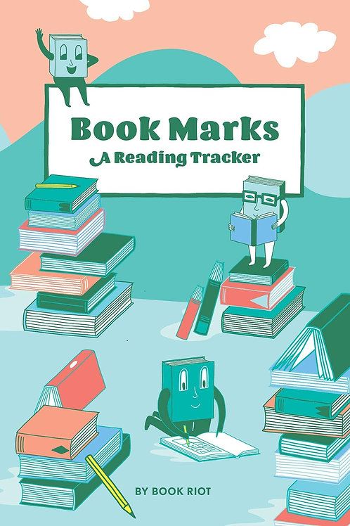 Book Marks (Guided Journal): A Reading Tracker