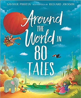 Around the World in 80 Tales - Paperback