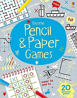 Pencil & Paper Games (Tear-off Pads) Paperback