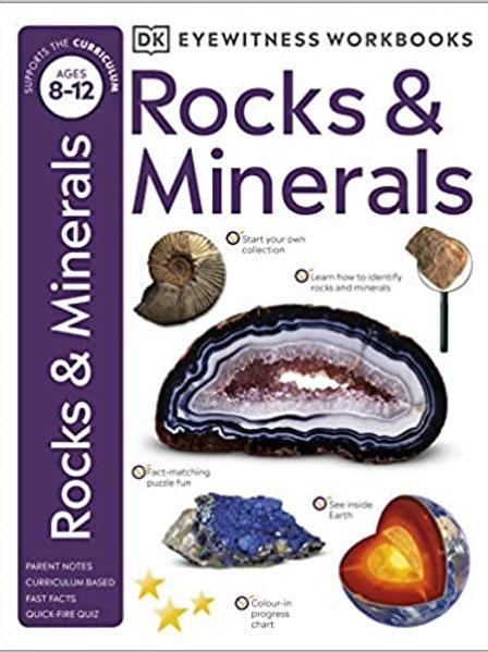 Rocks & Minerals (Eyewitness Workbook)