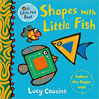 Shapes with Little Fish Board book