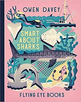 Smart About Sharks (Owen Davey Animals Series) Hardcover