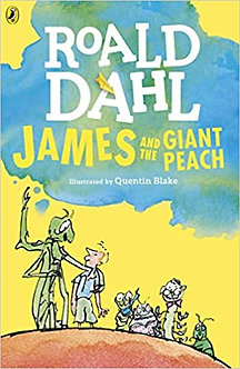 James and the Giant Peach (Dahl Fiction) Paperback