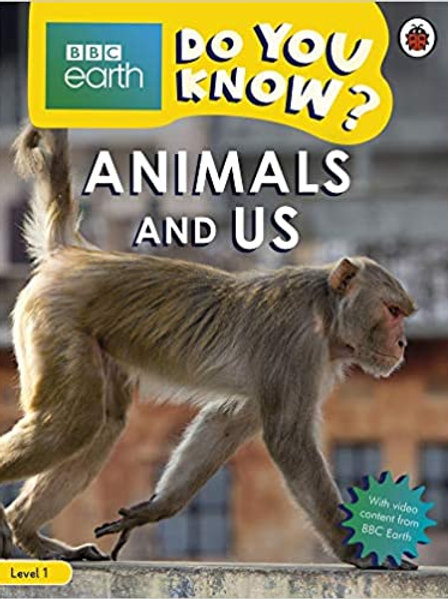 Do You Know? Level 1 – BBC Earth Animals and Their Bodies