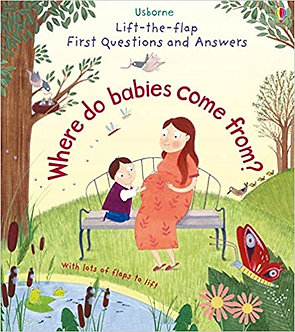 Where Do Babies Come From? (Lift the Flap First Questions and Answers) Board boo