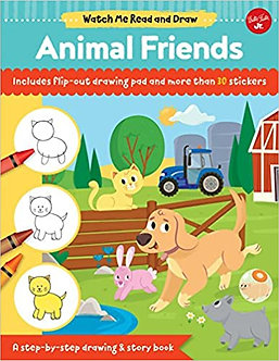 Watch Me Read and Draw Animal Friends