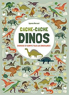 Cache-Cache Dinos : Cherche et compte tous les Dinosaures !