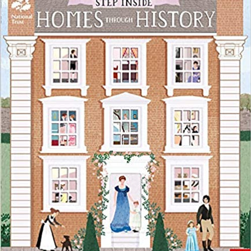 Step Inside Homes Through History Hardcover