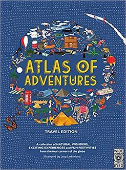 Atlas of Adventures: Travel Edition Hardcover