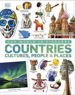 Our World in Pictures: Countries, Cultures, People & Places: A Visual Encycloped