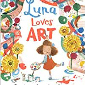 Luna Loves Art(Hardback)